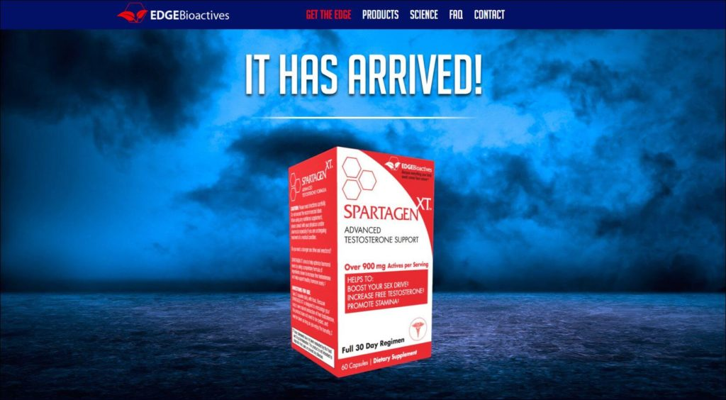 Spartagen XT official website