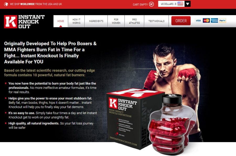 instant knockout official website