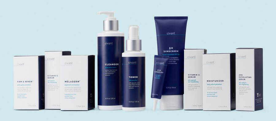 civant skincare products