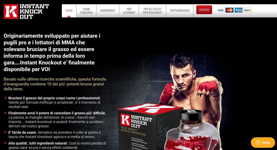 instant knockout sito ufficiale