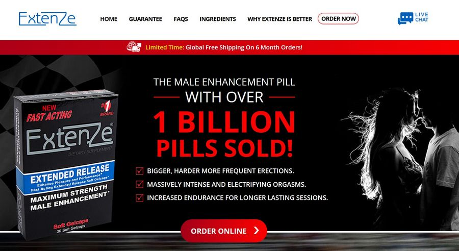 Extenze site officiel